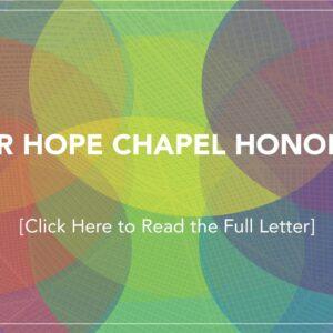 DEAR HOPE CHAPEL HONOLULU